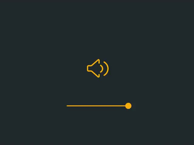 Watch Volume Control Micro Animation GIF on Gfycat. Discover more related GIFs on Gfycat