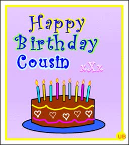 Watch Happy birthday cousin GIF on Gfycat. Discover more related GIFs on Gfycat