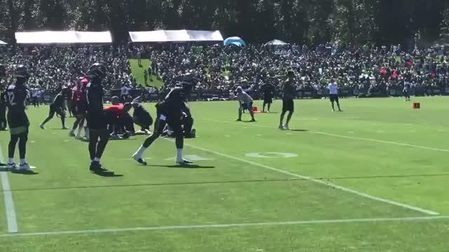 Watch and share [Condotta] [Highlight] Seahawks WR DK Metcalf Runs An Out Route GIFs on Gfycat