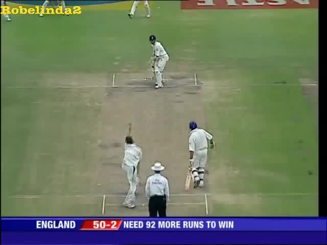 Watch and share Dale Steyn's Ripper To Vaughan 2004 GIFs on Gfycat