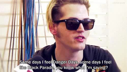Watch and share Black Parade GIFs and Danger Days GIFs on Gfycat