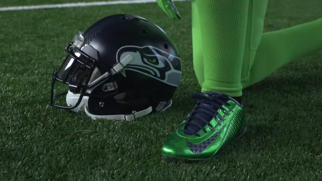 BTS Seattle Seahawks Color Rush (Teaser) GIF  0779ed787