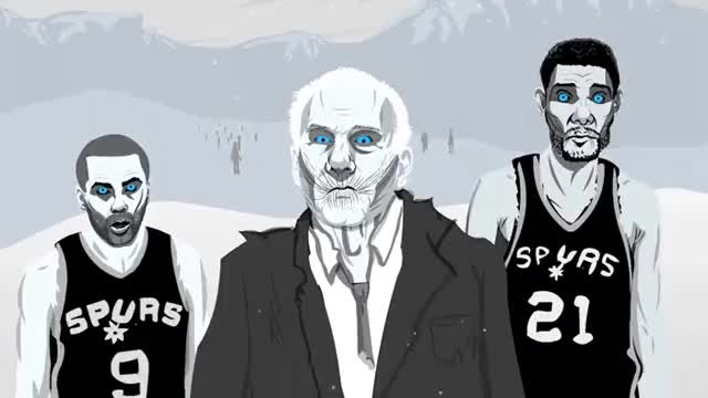 Watch and share Post Tim Duncan Spurs White Walkers LwaF GIFs on Gfycat