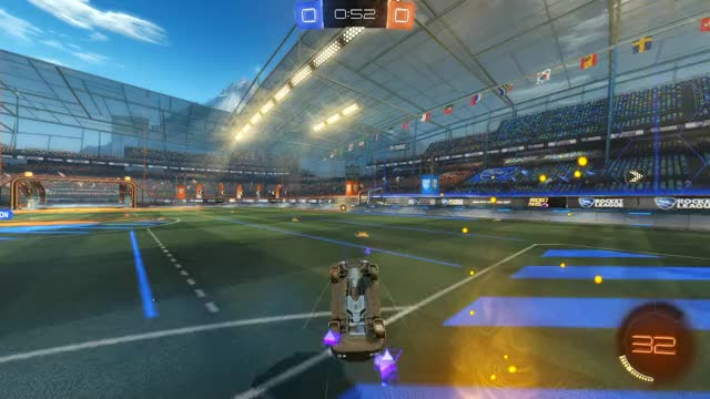 Watch and share Rocket League GIFs and High Angle GIFs by Seaal on Gfycat