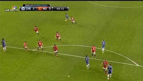 Watch and share Samuel Etoo Second Goal Vs Manchester United GIFs on Gfycat