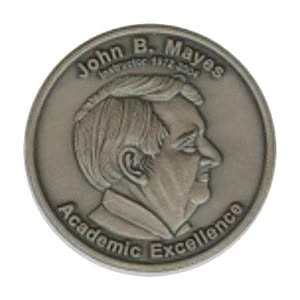 Watch and share JOHN B. MAYES COIN Of ACADEMIC EXCELLENCE GIFs on Gfycat