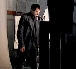 Watch and share Other Gifs Misha Collins Ugh Black Trench Coat GIFs on Gfycat