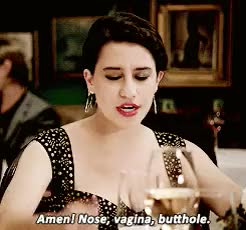 Watch this anal GIF on Gfycat. Discover more 3, IT'S 2014 ANAL'S ON THE MENU, [gently shoves everyone towards this gem of a show], abbi abrams, broad city, ilana wexler, this scene's lighting made me want to cry but GIFs on Gfycat