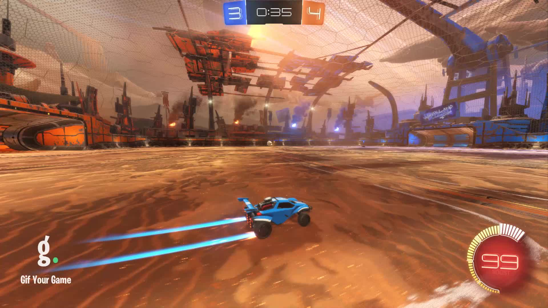 Assist, Gif Your Game, GifYourGame, Rocket League, RocketLeague, berserk., Assist 3: berserk. GIFs