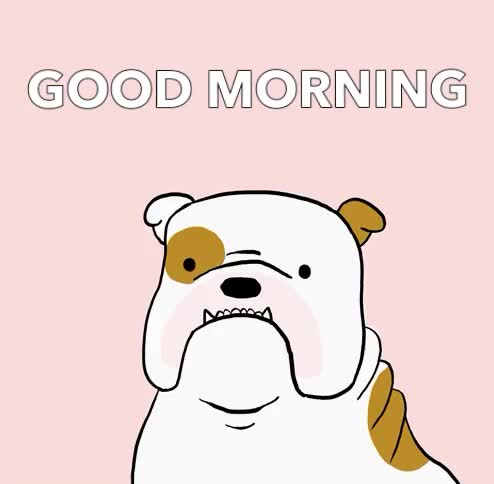 Watch this good morning GIF by GIF Queen (@ioanna) on Gfycat. Discover more a, aww, cute, day, dog, good, good morning, have, hello, hey, hi, morning, nice, puppy, sleepy, yawn GIFs on Gfycat