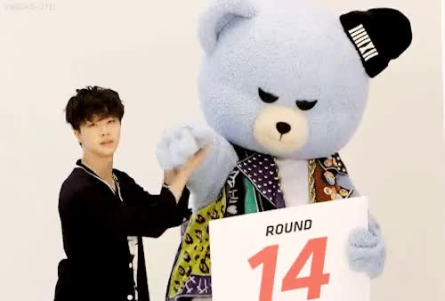 Watch Jinhwan & Krunk GIF on Gfycat. Discover more ikon, jinhwan, krunk, my gif, netkon, so cute, v app, yg family GIFs on Gfycat