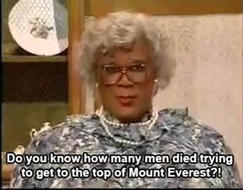 Watch and share Shut The Hell Up Gif Madea GIFs on Gfycat