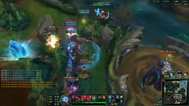 Watch and share League Of Legends GIFs and Katarina GIFs by Overwolf on Gfycat
