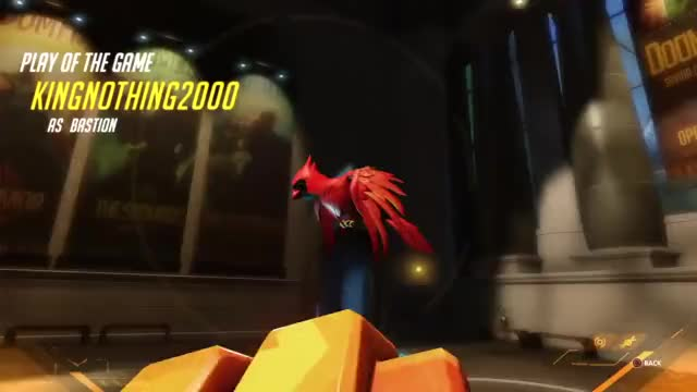 Watch and share Overwatch GIFs and Bastion GIFs by KingNothing2000 on Gfycat