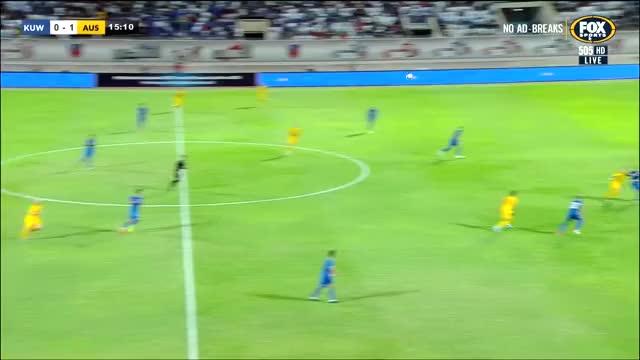 Watch and share Kuwait V Australia Adam Taggart WCQ 2019 GIFs on Gfycat