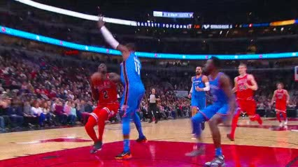 Watch and share Jerami Grant — Oklahoma City Thunder GIFs by Off-Hand on Gfycat