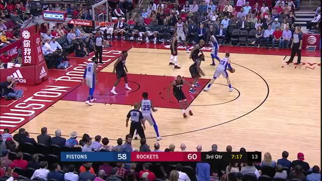 Watch Griffin mismatch GIF by Mike Snyder (@m_james_snyder) on Gfycat. Discover more Detroit Pistons, Griffin, Houston Rockets, basketball, harden GIFs on Gfycat