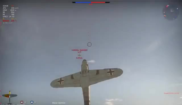 Watch and share War Thunder ► BF-109 G14│KCS│ I Kill Cuz I'm Hungry │[HD][RB] GIFs on Gfycat