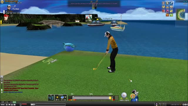 Watch and share Shot Online GIFs and Golf GIFs by albertopizza on Gfycat