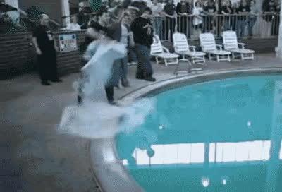 chemicalreactiongifs, gifsthatendtoosoon, Liquid Nitrogen into a Pool. GIFs