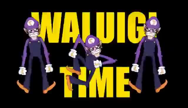 Watch and share WALUIGI TIME GIFs on Gfycat