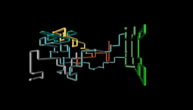 Watch and share 3D Pipes Screensaver (1080p) GIFs on Gfycat