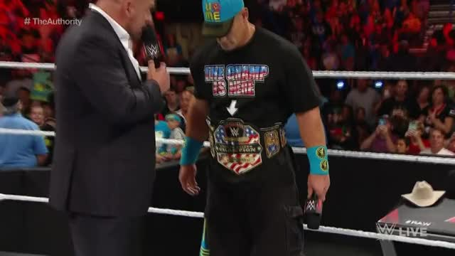 Watch John Cena & The Authority GIF on Gfycat. Discover more John Cena, Raw, Seth Rollins, Stephanie McMahon, The Authority, Triple H, WWE RAW (Recurring Competition), WWE United States Championship, WWE World Heavyweight Championship, superstars, world wrestling entertainment, wrestle, wrestler, wrestling, wwe GIFs on Gfycat