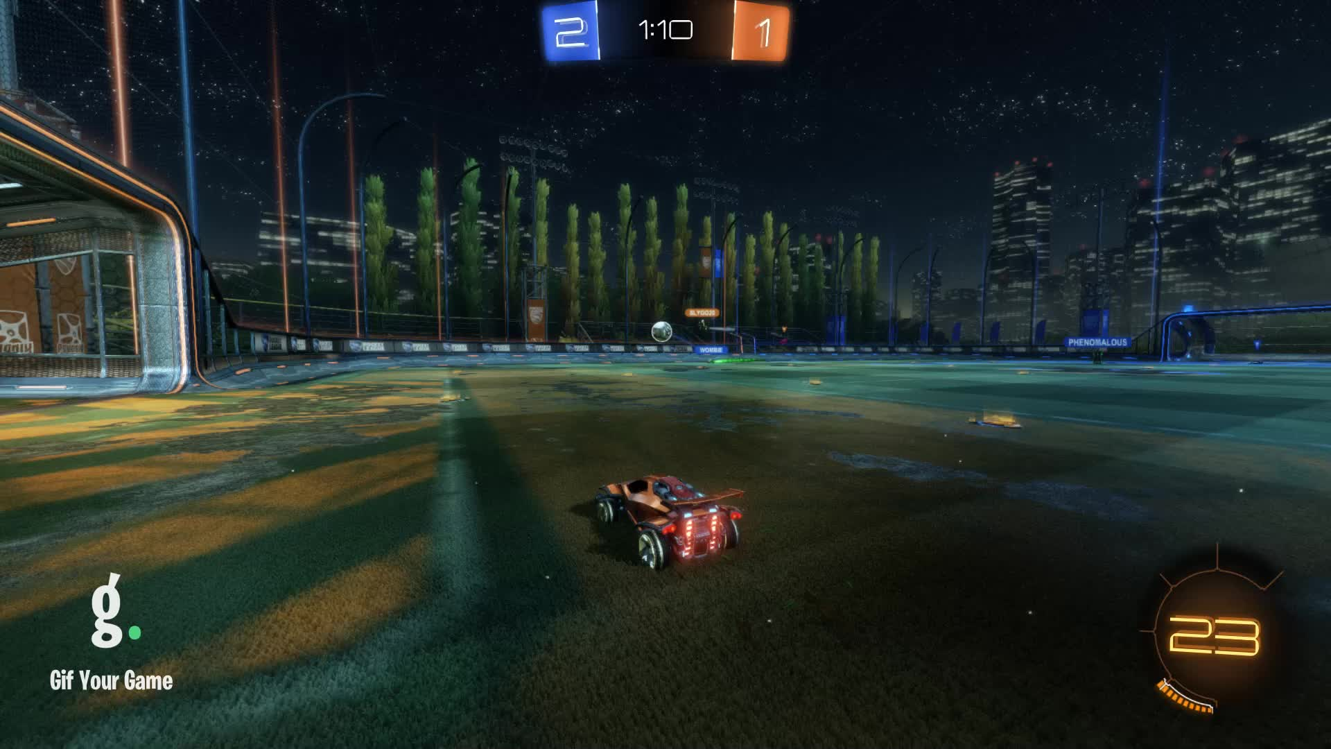 Gif Your Game, GifYourGame, ItWas...Justified, Rocket League, RocketLeague, Save, Save 7: ItWas...Justified GIFs