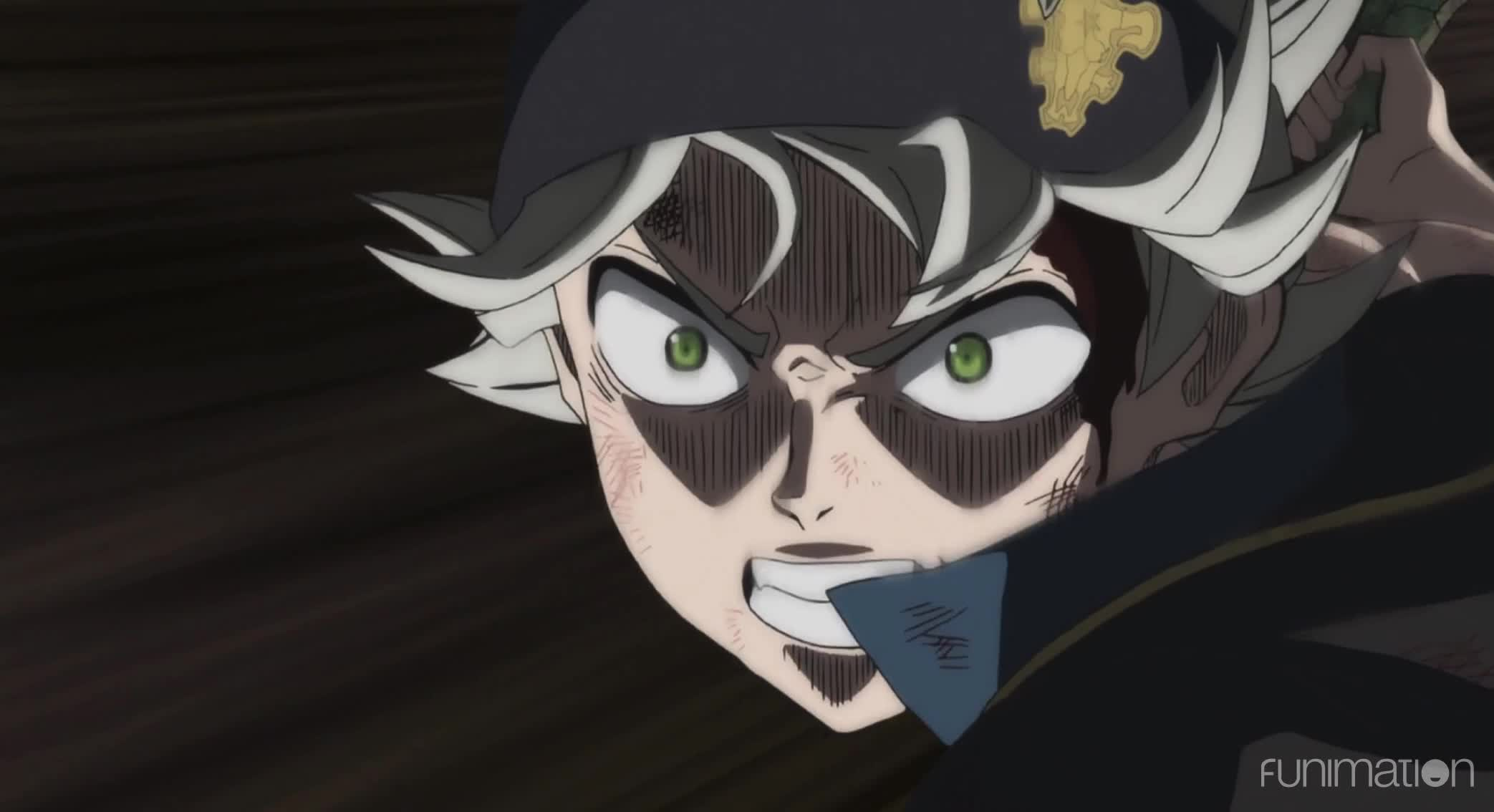 Black Clover, Black Clover Episode 17, Funimation, action, anime, Pebble that shatters the diamond GIFs