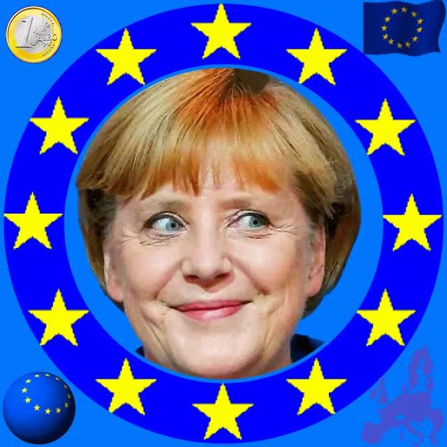 Watch and share ANIMADO Los Alemanes Eligen Angela Merkel Lider De Europa GIFs on Gfycat