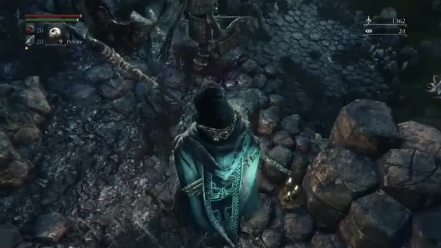 Watch Bloodborne - Beating the Rock Throwing Giants with Pebbles GIF by @thosewholeft on Gfycat. Discover more Bloodborne, bloodborne GIFs on Gfycat