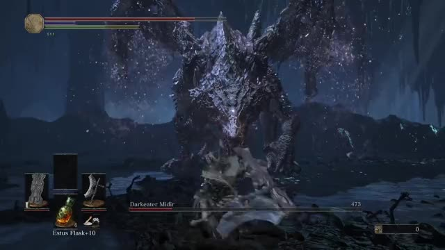 Watch and share Dragonslayer Axe GIFs and Darkeater Midir GIFs by Kaneda18 on Gfycat