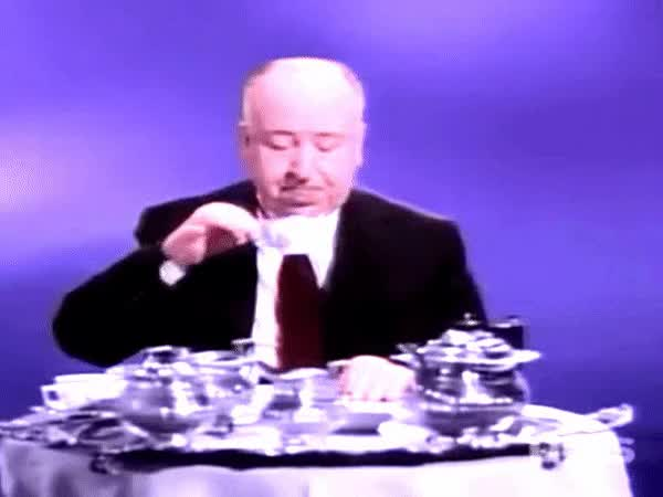 Watch and share Alfred Hitchcock GIFs and Good Evening GIFs by Bob on Gfycat