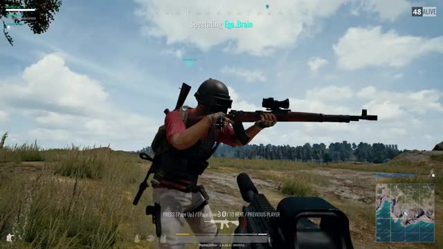 Watch Kar98K extended mag? GIF by Joevial Gamer (@hypofish) on Gfycat. Discover more glitch, kar98k, pubg GIFs on Gfycat