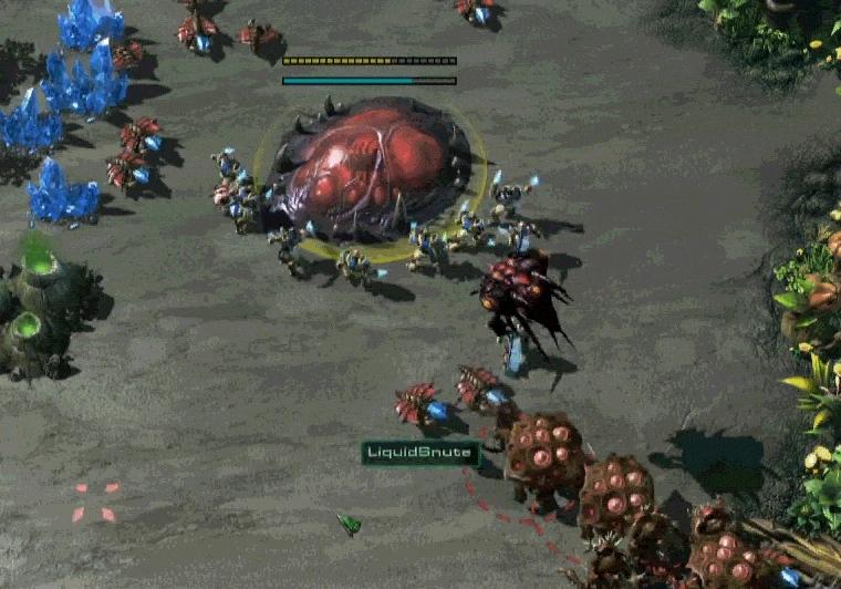 GosuMicro, gosumicro, starcraft, Snute saving his hatch (reddit) GIFs
