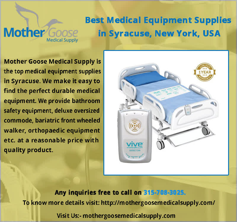 sports shoes 8a43e 2c6fb Buy Medical Equipment Supplies in Syracuse, Mother Goose Medical Supplies,  USA GIF