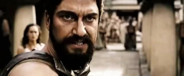 Watch this 300 GIF on Gfycat. Discover more 300, 300 movie, celebs, gerard butler, graphic, greece, hardcore, lena headey, movie, movies, part1, persia, spartanen, spartans, trailer GIFs on Gfycat