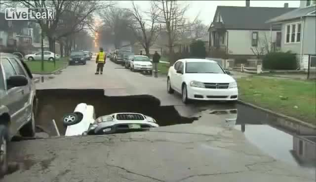 Watch and share Sinkhole GIFs and Flooding GIFs on Gfycat