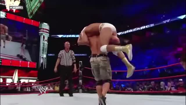 Watch From behind GIF by blazexinferno on Gfycat. Discover more Alberto Del Rio, John Cena, Ricardo Rodriguez, SquaredCircle, wrestling GIFs on Gfycat