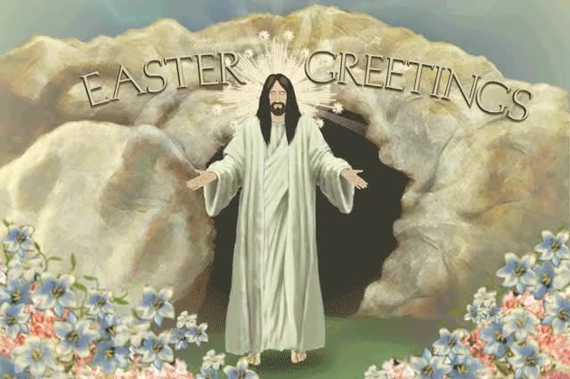 Watch and share Jesus Christ GIFs and Easter GIFs by Ecard Mint on Gfycat