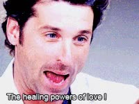 Watch and share Greys, Greys Anatomy, Patrick Dempsey, Dr Derek Shepherd, The Healing Power Of Love GIFs on Gfycat