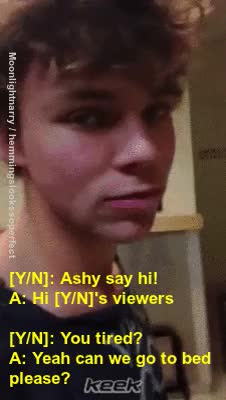 Watch and share Andrea Russett GIFs and Ashton Irwin GIFs on Gfycat