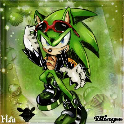 Watch and share Scourge The Hedgehog GIFs on Gfycat