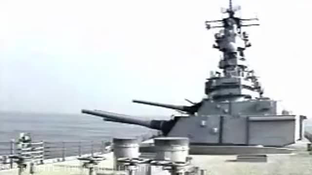Watch and share U.S. Iowa Class Battleship Firing GIFs on Gfycat