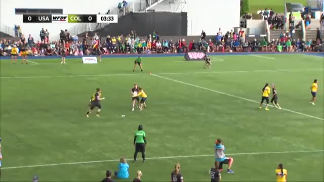 Watch Anna Nazarov Endzone Layout in the Women's WUGC Final GIF by Robert J McLeod (@rjmcleod) on Gfycat. Discover more frisbee, ultimate, ultimate frisbee GIFs on Gfycat