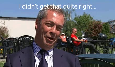 Watch and share Nigel Farage GIFs on Gfycat