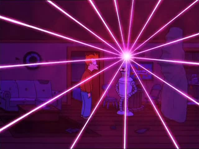 Watch laser show GIF by @justrynahelp on Gfycat. Discover more futurama, perfectloops, prettygoodloops GIFs on Gfycat