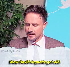 Watch and share Celebrity Tweets GIFs and David Arquette GIFs on Gfycat