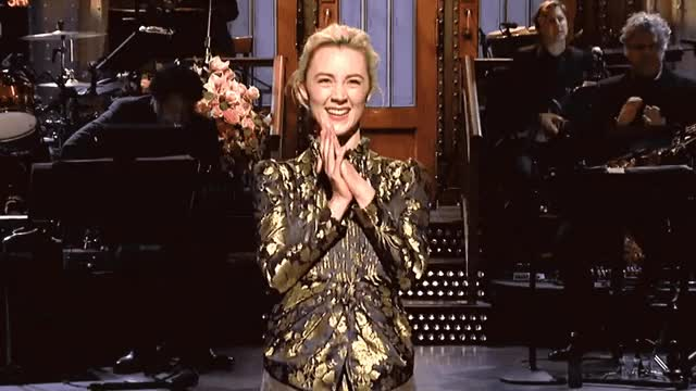 Watch this thanks GIF by GIF Queen (@ioanna) on Gfycat. Discover more applause, bravo, clap, clapping, excited, exciting, gracias, happy, live, night, ronan, saoirse, saturday, snl, thank, thanks, you GIFs on Gfycat