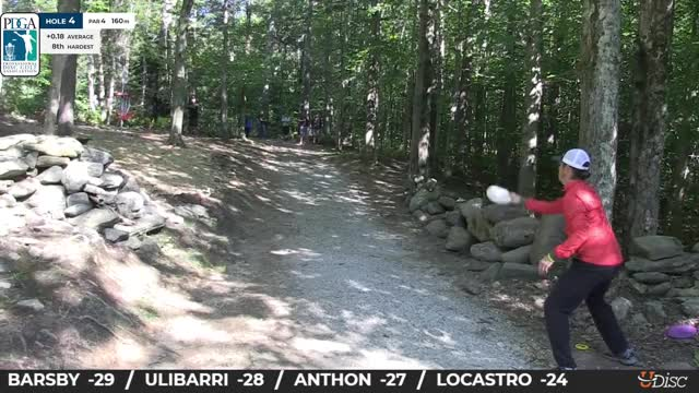 Watch 2018 PDGA World Championships MPO Round 4 - Gregg Barsby hole 4 putt GIF by Benn Wineka UWDG (@bennwineka) on Gfycat. Discover more Disc Golf Tournament, Live Disc Golf, PDGA, SmashBoxx, SmashBoxxTV, Sports, The Disc Golf Guy GIFs on Gfycat